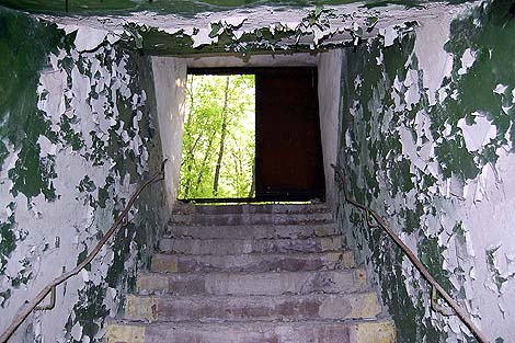 Бомбоубежище в Донецке