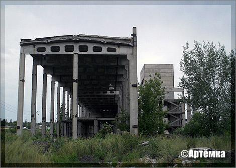 Недостроенная котельная в Краматорске