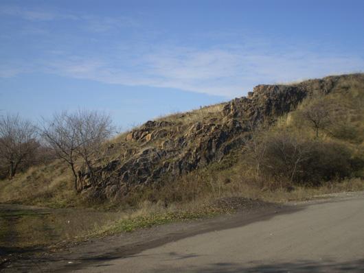 Скала в Камышатке
