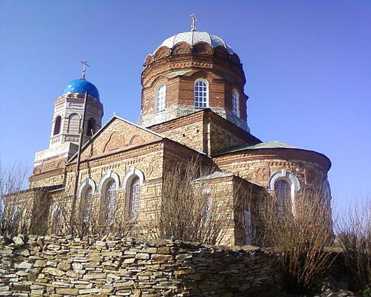 Храм в Малоивановке